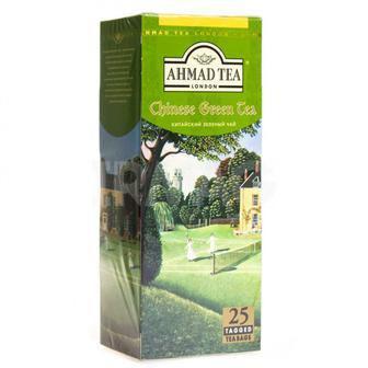 Чай китайский зеленый Ahmad Tea 25х1,8 г