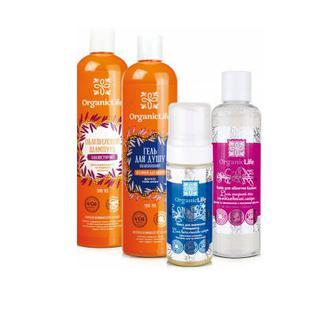 Засоби догляду з  обличчям, тілом та волоссям Organic LIfe