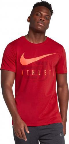 Футболка Nike M NK DRY TEE DB ATHLETE 739420-687 XL червоний