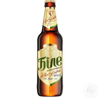 Пиво Черниговское Белое светлое нефильтрованное 0,5л