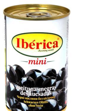 "Маслини mini б/кіст. з/б ключ,  ""Iberica"", 300г"