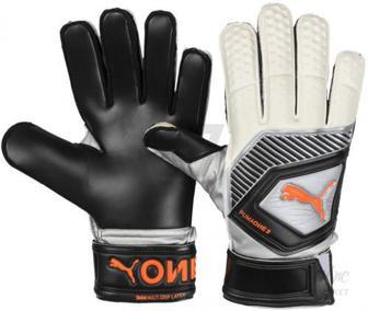 Воротарські рукавиці Puma One Protect 3 р. 10 сірий