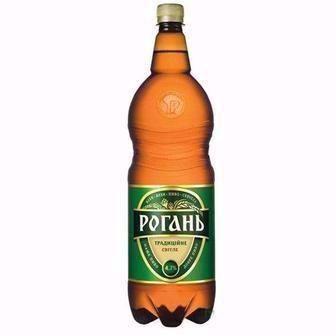 Пиво світле Янтарь/Рогань Традиційне 1,2л