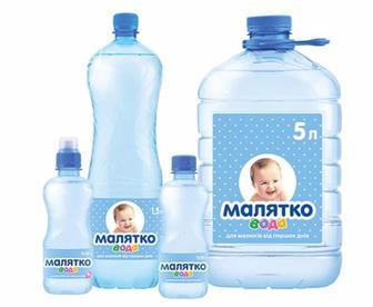 Дитяча вода Малятко