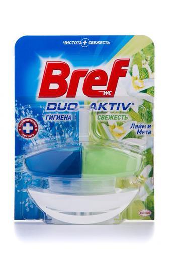 Чистящее средство для туалета Bref Дуо Актив Природный Баланс с корзинкой, 50мл
