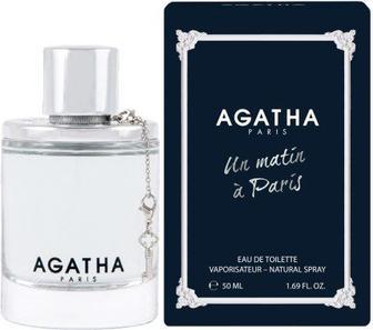 Жіноча туалетна або чоловііча парфумована вода Agatha