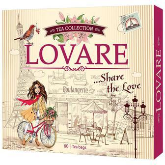 Чай Lovare Колекція 60пак