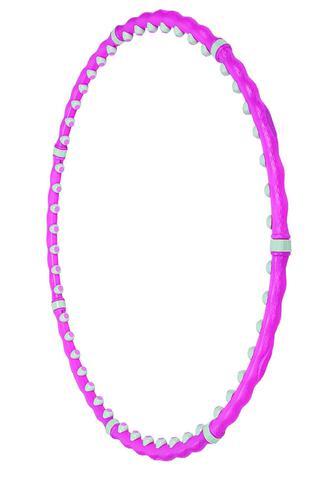 Обруч масажний Torneo Magic Hoop Bio рожевий