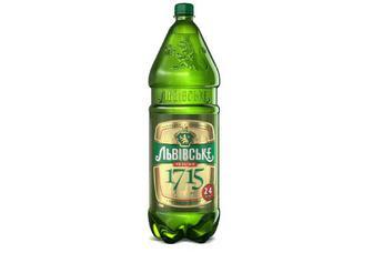 Пиво «Львівське 1715» світле, 2,4л