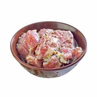Шашлик  зі свинини в маринаді мадрид охолоджений  1 кг