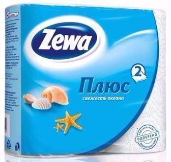 Туалетний папір Zewa Plus 4 шт