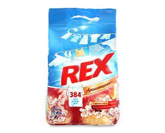 Порошок пральний Rex автомат аромат квітучої сакури та водяної лілії, 2,4кг