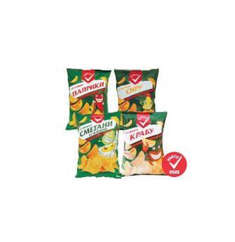 Чіпси картопляні Варто, 140 г