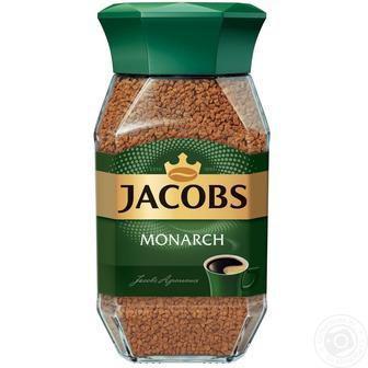 Кава розчинна Якобз Монарх 190 г
