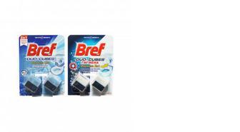 Кубики чистящие для сливного бачка Aktiv, Bref, 2*50г