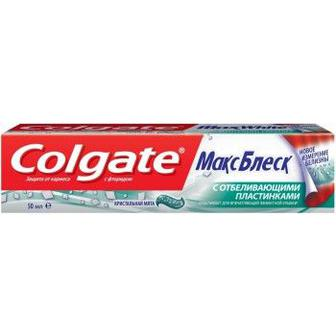 Паста зубна Colgate Макс Блиск 50/100мл