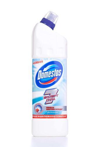 Средство для чистки и дезинфекции туалета Domestos Ультра белый, 1000мл