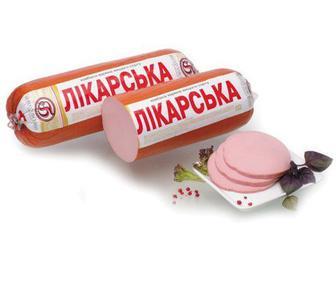 Колбаса Салтівський МК Докторская ДСТУ кг