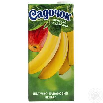 Нектар Садочок яблочно-банановыый 0.95л