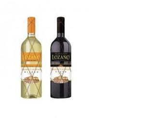 Вино Испания белое/красное сухое Lozano, 0,75л