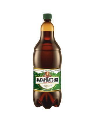 Пиво світле Оригінальне Закарпатське 2л