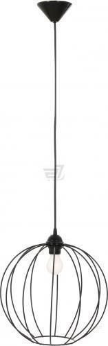 Підвіс Lamperia Iron bollus 1x60 Вт E27 чорний