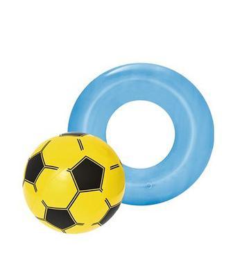 М'яч пляжний 41 см, круг 51 см Бествей