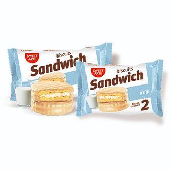 Печиво Sandwich  Sweet Arte 50 г