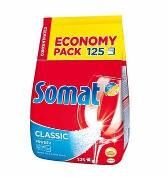 Порошок для посудомоечных машин Somat Classic 2,5кг