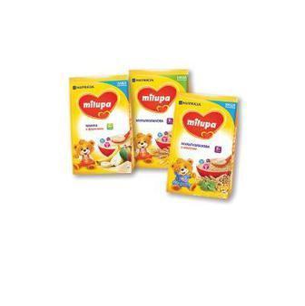Каша молочна Milupa 170/210г