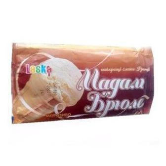 Морозиво у вафельному стаканчику Мадам Брюле Laska 60 г