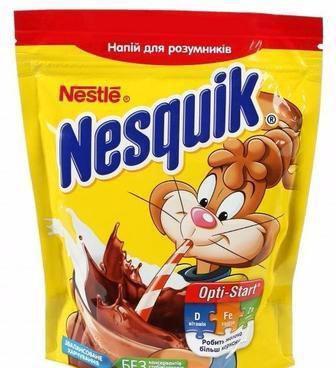 Напій з какао Опті-Старт економ пакет Несквік 380г