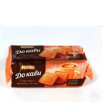 Печиво До кави з ароматом пряженого молока Roshen 185 г