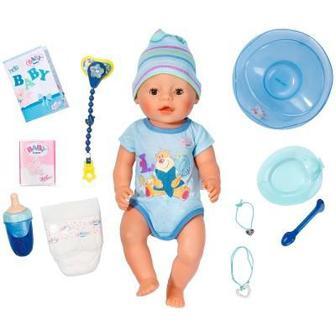 Кукла Очаровательный малыш Zapf Сreation Baby Born 43 см аксессуары (822012)