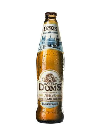 ПИВО Golden Ale Robert Doms 5,2%, 0,5 л ЛЬВІВСЬКЕ