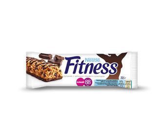 Батончик Nestle з цільними злаками Fitness з шоколадом, 23,5 г