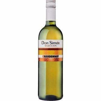 Вино біле сухе CHARDONNAY або червоне CABERNET SAUVIGNON Don Simon 0.75 л
