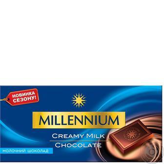 Шоколад Millennium молочный 100 г