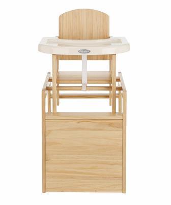 Стілець для годування дерев'яний OBaby