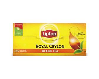 Чай чорний Lipton Royal Ceylon, 25×2 г/уп