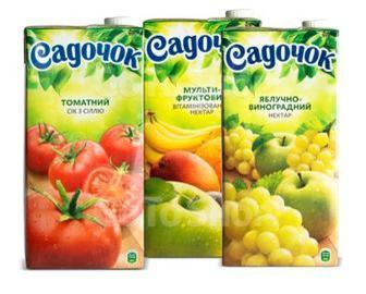 Сік томатний/нектар, Садочок, 0,95л