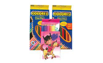 Олівці кольорові 12 шт. в пачці, 1 пачка
