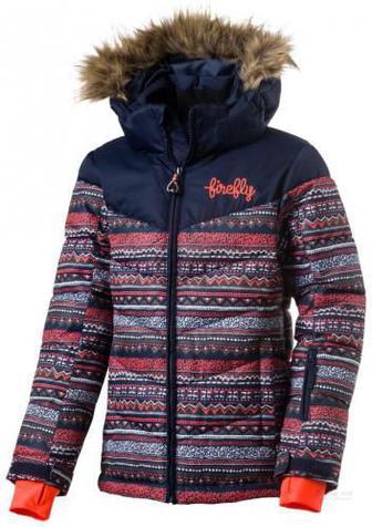 Куртка Firefly Talisha gls р. 116 синій із помаранчевим 267532-907915