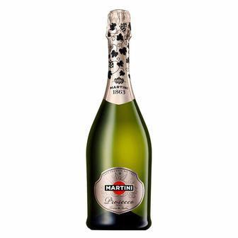 Вино ігристе Просекко брют, Брют біле, Мартіні солодке Лімітована серія Мартіні 0,75 л