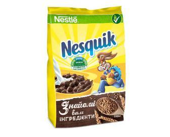 Сніданок сухий готовий Nesquik шоколадний, 225г