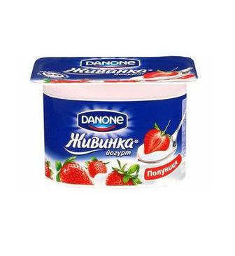 Йогурт 1,5% Молочний Живинка Данон,115 г