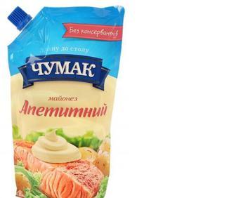 Майонез Апетитний, Чумак, 350 г