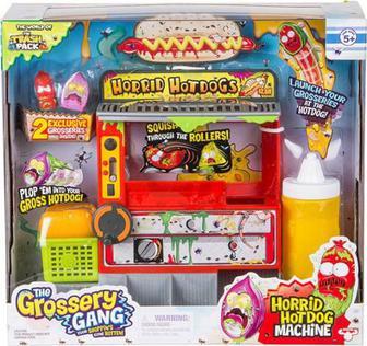 Набір Moose Grossery Gang S2 Хот-дог + 2 ексклюзивні фігурки 69017