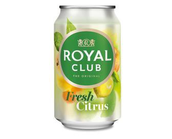 Напій «Свіжий цитрус» безалкогольний газований, Royal Club, 0,33 л