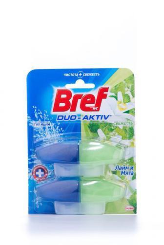 Чистящее средство для туалета Bref Дуо Актив Природный баланс запаска, 2*50г